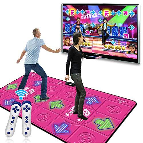 Doppeltes Spiel-Tanz-Massage-Matte, Wireless TV Computer-Dual-Use Somatosensory, Yoga Aerobice Somatosensorischen Spiel Classic Game,A
