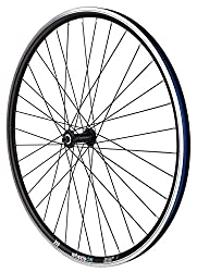 700c 28 inch wheelsON Front wheel Double Wall 36H Black. Recomended Tyre:700x30c up to 700x47c HUB: - Quando Hub KT-A15F- Quick Release -36 spokes. -100mm hub spacing. -Colour Black. Quick Release skewer included. Free Rim Tape Not Suitable for Road ...