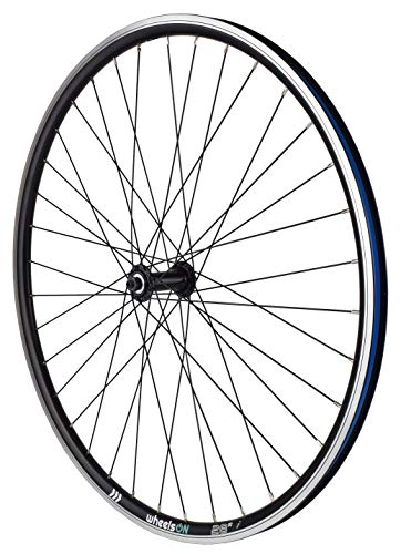 wheelsON 700c Front Wheel Hybrid/Mountain Bike Rim-Brake 36H Black Quick Release