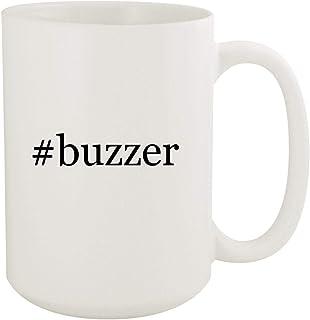 #buzzer - 15oz Hashtag White Ceramic Coffee Mug
