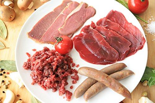 鉄分豊富◎高タンパク・低カロリー!!但馬産鹿肉バラエティセット
