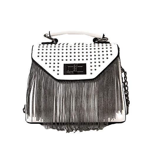 Women's Handbags Punk Rivet Bag Shoulder Bags Small Tote Bag Ladies Crossbody Bags PU Leather