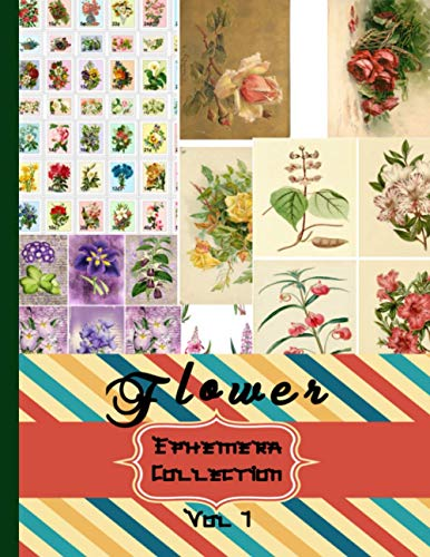 Compare Textbook Prices for Flower Ephemera Collection: Vol 1 Vintage Colored Floral Botanical Scrapbooking Embellishments –Scrapbook Flowers Fruits and Vintage Botanical ... Are Endless Craft and Hobby Books  ISBN 9798560058876 by Edition, Scraft  Key,Ephemerer, Professional