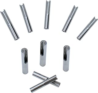 Muzata Invisible Cable Railing Kit T316 Stainless Steel Toggle Anchor Terminal for 1/8