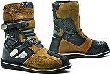 Fora Terra Evo Low WP - Botas de moto homologadas CE, color marrón T45