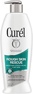 Curél Rough Skin Rescue Lotion, Smoothing Lotion for Dry, Flaky Skin, 13 Ounces