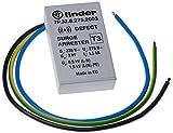 Finder 7P3282752003 - Limitatore di sovratensione tipo 3 presa a parete varistore/spinterometro con indicatore acustico