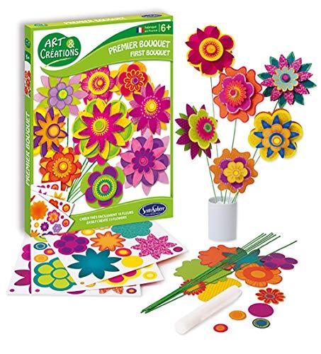 Sentosphere 20000 20000-Blumenstrauß Bastelspaß, Bastelset