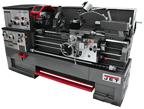 Read About JET ZX Series Large Spindle Bore Lathe with Taper Attachment and Collet Closer - 16in. x ...