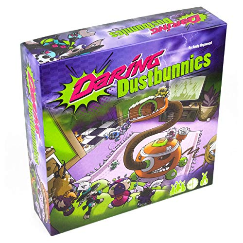Hopwood Games Daring Dustbunnies Board Game , From Ages 10+ years , 2-5 Players
