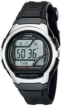 Casio Men s WV58A-1AVCR Waveceptor Atomic Digital Watch