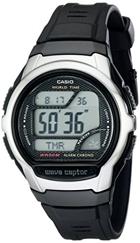 Casio Men's WV58A-1AVCR Waveceptor Atomic Digital Watch Change Time Casio G-shock Watch