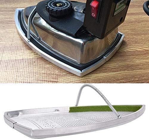 Desconocido HEEPDD Plancha eléctrica Zapatos, Plancha eléctrica de Aluminio Caja Fuerte Sombrero...