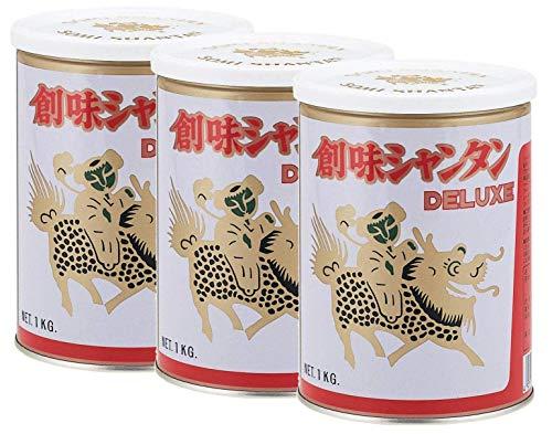 創味 シャンタンDELUXE 1kg×3缶 【セット商品】