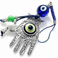 邪悪な目を保護するハムサの手のチャームと祝福。