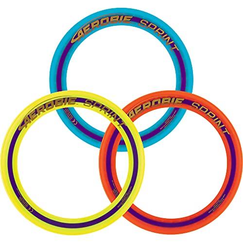 Aerobie Sprint Flying Ring Wurfring mit Durchmesser 25,4 cm, farblich sortiert