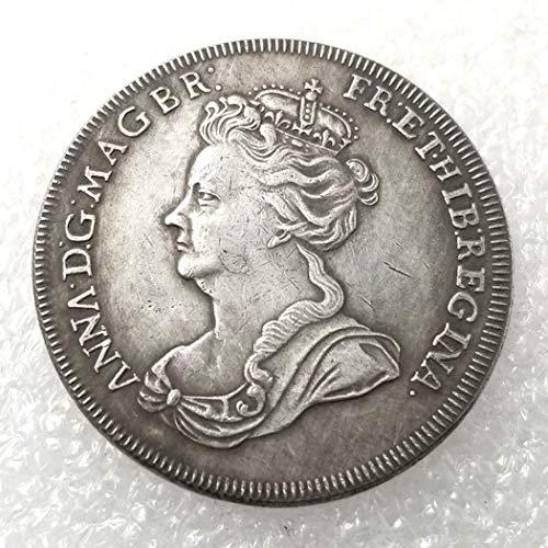 LKTingBax - Moneda Antigua británica Inglesa, Monedas de níquel de Hobo, Monedas de Reino Unido, Regalos de Fiesta para niños, niñas, Adultos, Monedas conmemorativas, Hacer la Vida más fácil