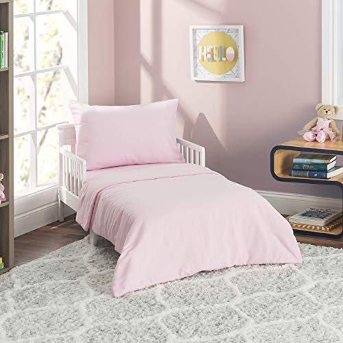 Best toddler bed bedding pink for 2021