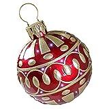 LED Christmas Ornaments - Gargantuan 2 Foot Tall Illuminated Outdoor Christmas Ornaments - LED Holiday Decor Statue
