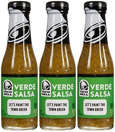 Taco Bell Verde Salsa 7.5 Oz (Pack of 3)