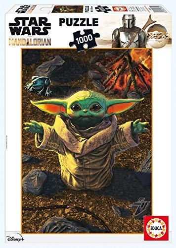 Educa Borras Educa Star Wars The Mandalorian Puzzle Pick Me Up, Please 1000 pezzi (11892), Multicolore, 18892