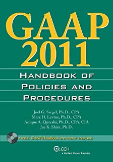 GAAP 2011 Handbook of Policies and Procedures (Gaap Handbook of Policies and Procedures)