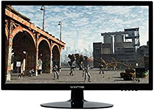 Sceptre 20 inch 1600x900 75Hz LED HD Monitor HDMI VGA Build-in Speakers, Brushed Black 2019 (E205W-16009A)