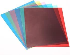 Andoer 20cm Colour Gel Filter for Light Speedlite Flash