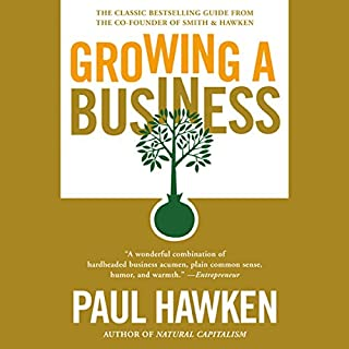Growing a Business audiobook cover art