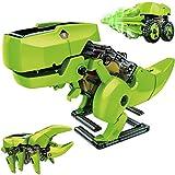 ANGELBLISS Stem Kit de construcción de Robots, Juguetes de Robot Solar 3 en 1, Juego de Dinosaurios de construcción de Ciencias para niños a Partir de 8 años y niñas