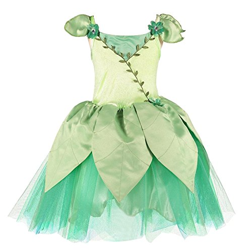 Leaf Forest Fairy Costume 6-8 ANS