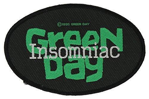 GREEN DAY Aufnäher INSOMNIAC Patch gewebt 11 x 7 cm