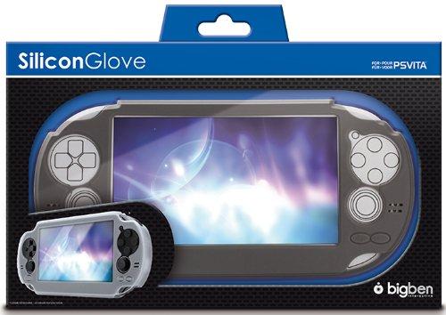 Silikon Glove (Farblich Sortiert) Gummi Schutz-HülleTasche Case Cover Bag für Sony PS Vita PSV PSVITA Konsole