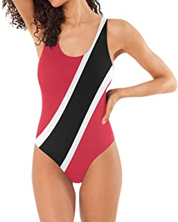 Nugier Flag 1 PC Sexy Swimsuit Swimwear Beach Bathing Suit Bikini(S-XL)