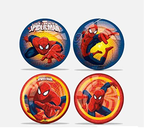 MONDO Ballon Licence Spiderman – Multicolore – 23 cm – Jeu de Plein Air dès 36 mois