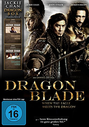 Jackie Chan - Dragon Box : Dragon Blade - Dragon Hero - Dragon Lord (3DVD Box)