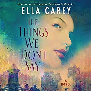 The Things We Don't Say audiobook cover art