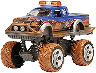 DICKIE TOYS Dickie 203742000 Eat My Dust Rally Monster 3 Assorted Vehicle, Various