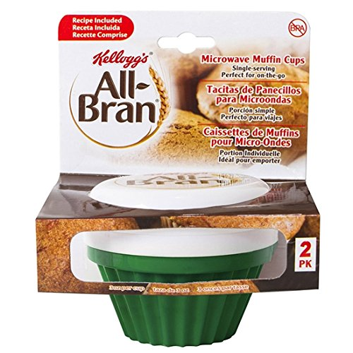 Kellogg's All-Bran Muffin Maker - 2 Pack (Green)