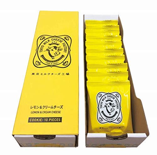 東京ミルクチーズ工場 レモン&クリームチーズクッキー10枚入 ラングドシャ チョコレート お土産 個包装 プレゼント お祝い お中元 贈り物 ギフト