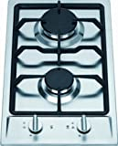 Ramblewood high efficiency 2 burner gas cooktop(Natural Gas), GC2-43N, ETL Safety Certified.