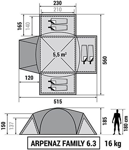 Decathlon - Tienda de campaña Arpenaz Camping Family, Hombre ...