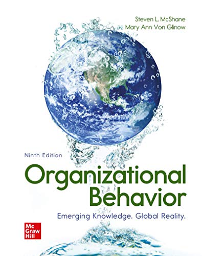 Loose Leaf for Organizational Behavior: Emerging Knowledge. Global Reality