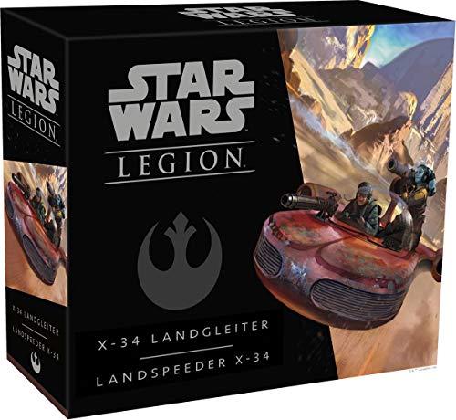 Asmodee Fantasy Flight Games FFGD4629 SW: Legion - X-34 Landgleiter - Erweiterung, Experten-Spiel, Deutsch
