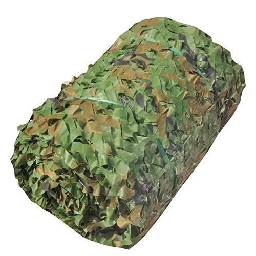 Cobertor de Red de Camuflaje,Toldo De Sombra Red de sombreado | Persianas de Camo Green Camo |Cubierta de Red Militar Duradera de 2m x 3m | Decoración de sombreado Duradero Ligero, 44 tamaños