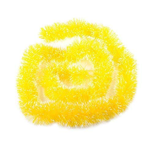 XIAO WEI Christmas Party Christmas Tree Ornaments 2m Tinsel Hanging Decorations 5 Colors Garland