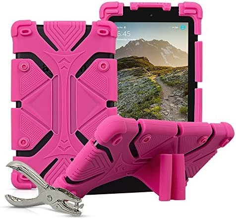 Universal 7 inch Tablet Case Shockproof Silicone Stand Cover for All Versions RCA Voyager 7 product image