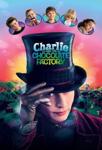 Charlie And The Chocolate Factory Movie Poster #01 Johnny Depp 24'x36'
