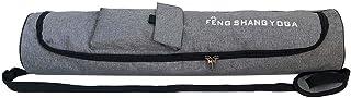 Everpert Fashion Unisex Portable Yoga Mat Bag Carrier Shoulder Crossbody Sport Bags for Women Men(Gray)