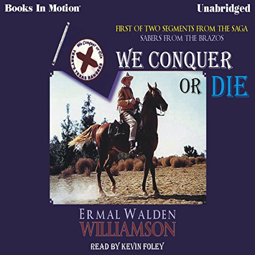 We Conquer or Die audiobook cover art